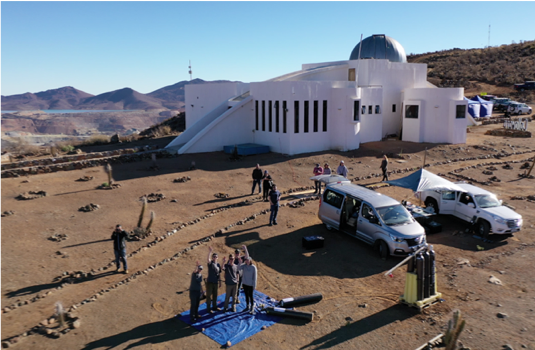 2019 South American radiosonde eclipse field campaign, Chile.