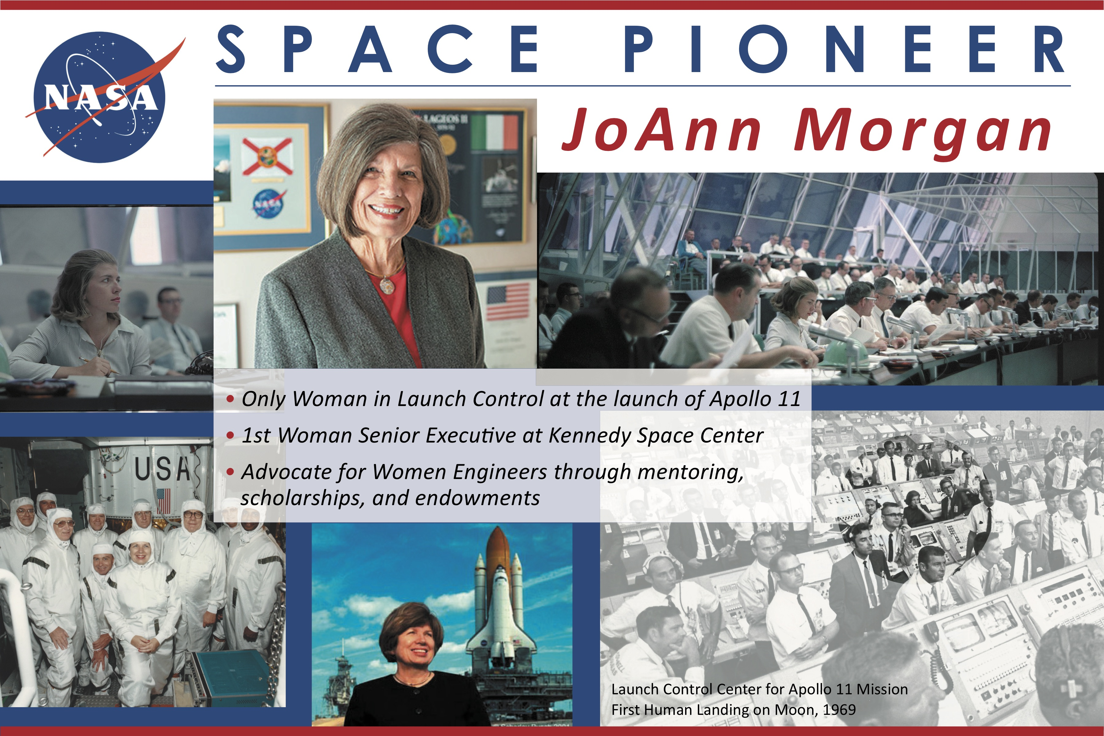 Space pioneer JoAnn Morgan